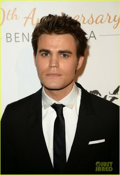Paul Wesley at the Humane Society of the United States' 60th Anniversary