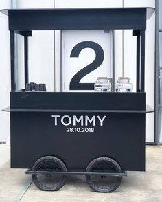 BATMAN MOBILE CART Hire this item through Timbermill Rentals. Bespoke furniture hire servicing the greater Sydney region Cafe Shop Design, Kiosk Design, Retail Design, Mobile Kiosk, Mobile Cafe, Food Cart Design, Food Truck Design, Bike Food, Small Coffee Shop