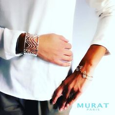 MURAT Paris | Ready for the restaurant ! #lunchtime #muratparis #bijoux #jewelry #mode #bracelet