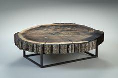 Sliced Bark Coffee Table | Flickr - Photo Sharing!