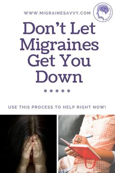 Migraines and depression cannot be taken lightly. Severe depression can lead to suicide. Come learn this simple process to help manage strong emotions now. Migraine Relief, Asthma Relief, Headache Medicine, Natural Headache Remedies, Chronic Migraines, Chronic Illness, Chronic Pain, Tension Headache