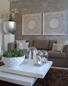 Wohnzimmer grau einrichten  Wohnzimmer grau-weiß | Living Room | Pinterest | Wohnzimmer grau ...