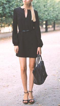 petite robe noire...un must !