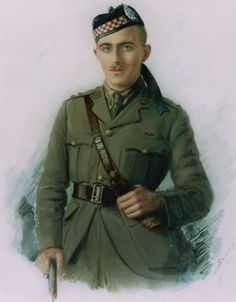 Lt David Lowe MacIntyre VC CB A&SH att 6th HLI 24th August 1918 France WWI