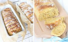 Carrot bread with oats Fika, No Bake Desserts, Banana Bread, Carrots, Drinks, Frases, God, Drinking, Drink