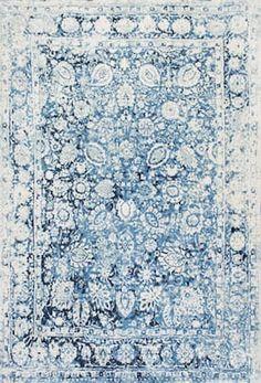 Nuloom Vintage Floral Boisvert Area Rug - This Blue rug is an excellent choice for your home. White Area Rug, Blue Area Rugs, Carpet Runner, Rug Runner, Tapetes Vintage, Vintage Floral, Vintage Rugs, Vintage Tile, Grey Carpet Bedroom