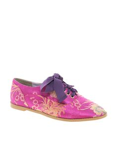 Magic Carpet Embroidered Flat