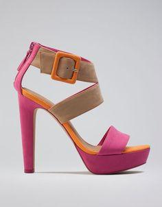 Bershka Colombia - Bershka tree-colour sandals