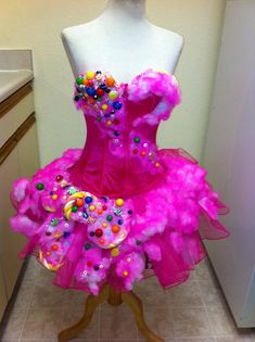 Cotton Candy Dress. Another one of Brandon Barker's fabulous creations.