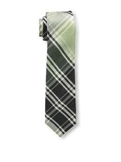 53% OFF Gitman Blue Men's Plaid Tie, Black Multi