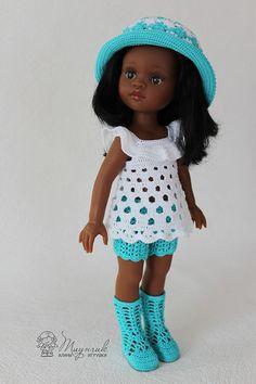 Вязаная одежда для кукол Paola Reina / Куклы Паола Рейна, Paola Reina / Бэйбики. Куклы фото. Одежда для кукол Pet Clothes, Sewing Clothes, Doll Clothes, African American Dolls, Baby Born, Beautiful Dolls, Diy And Crafts, Barbie, Crochet Hats