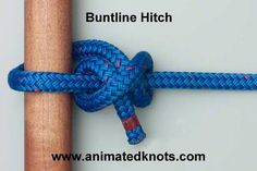 Buntline Hitch   How to tie a Buntline Hitch   Boating Knots