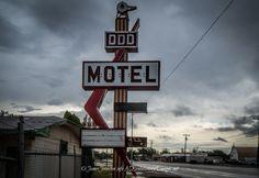 Triple DDD Motel and DDD Café in Wichita Falls, Texas (Closed)