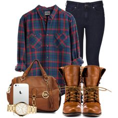 A fashion look from May 2013 featuring Wheels & Dollbaby jeans, Steve Madden ankle booties and Michael Kors handbags. Browse and shop related looks.
