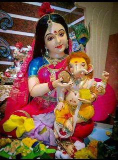 Cute Baby Ganpati Baby Ganesha, Baby Krishna, Ganesha Art, Shri Ganesh Images, Ganesha Pictures, Ganesh Lord, Sri Ganesh, Lord Shiva, Ganesh Bhagwan