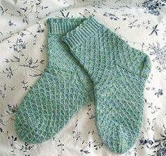 Ravelry: Green Merino Socks pattern by Tuulia Salmela