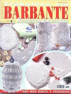 REVISTA TRABALHOS EM BARBANTE BANHEIROS & COZINHAS N. 55