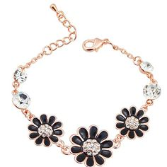 Gold Jewelry South Korean Version New Daisy Flower Bracelet Jewelry Accessories Exhibition Female Birthday W035 Jade Bracelet Silver Bracelet From Longxing03, $4.4| Dhgate.Com