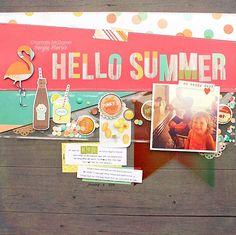 All Scrapbook Steals - The Blog: Summertime Memories