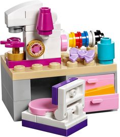 LEGO Friends 41115 - Emma's Creative Workshop | da www.giocovisione.com #lego #legofriends #legofriends2016