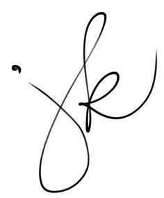 Handwritten Initials Custom Logo photoshop brush by PixelPolish