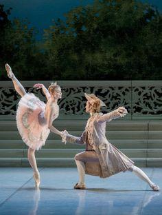 Angelina Vorontsova in Rose Adagio from The Sleeping Beauty