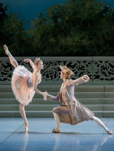 Angelina Vorontsova in Rose Adagio from The Sleeping Beauty