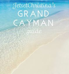 Drinking Coconuts & Kissing Stingrays: A guide to Grand Cayman