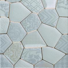 Mosaic Wall, Mosaic Tiles, White Honey, Tile Stores, Bath Tiles, Shower Cleaner, Marble Texture, Ceramic Design, Tile Ideas