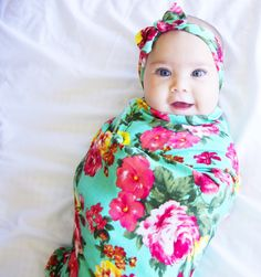 How To Swaddle A Baby With A Blanket Alluring Christmas Swaddle Set  Swaddle Blanket And Headband Set  Knit 2018