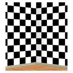 Checkered Party Backdrop