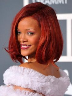 Best Red Hair Colors for Every Skin Tone  #HairColors #rihanna