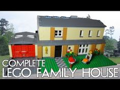 Lego Family Home (Complete) - YouTube