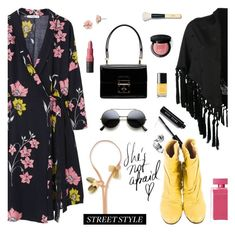 """""""NYFW: Street Style"""" by sproetje ❤ liked on Polyvore featuring MANGO, Alexander McQueen, Bobbi Brown Cosmetics, Chanel, Maison Margiela, Dolce&Gabbana, 1928, Marni, Narciso Rodriguez and StreetStyle"""