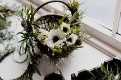 Winter wedding flowers by Vervain Flowers Winter Wedding Flowers, Winter Weddings, Winter Day, Cut Flowers, Flower Arrangements, Floral Design, Wreaths, Seasons, Plants