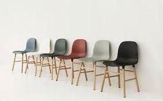 NYHET!Stol med plastskall og understell/ben i eik, valnøtt eller stål.Finnes i flere forskjellige farger. H: 78 cm L: 48 cmD: 52 cm Seat Height: 43 cm