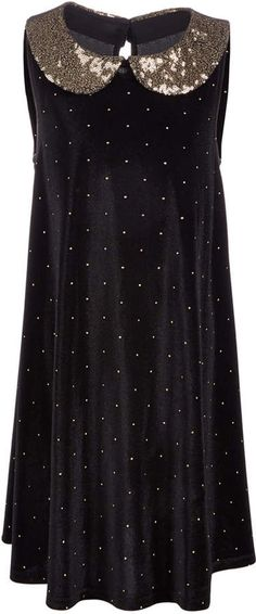 a8e762b710e21 Epic Threads Big Girls Sequin Collar Velvet Dress, Created for Macy's Kids  Shop, Sequin