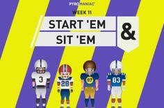 Start 'Em & Sit 'Em for Week 11 Ems, Content, People, Movie Posters, Film Poster, People Illustration, Billboard, Film Posters, Folk