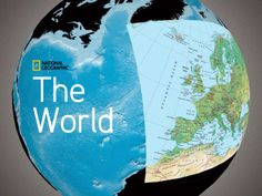 """The World"" app for iPad by National Geographic.  It's having the whole world in your hands."