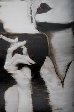 Saatchi Online Artist Janel Eleftherakis; Painting, Sepia Series #1 #art