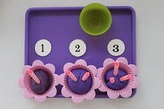 Counting candles tot tray