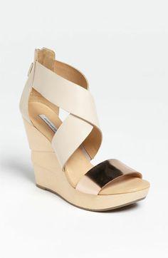 Diane von Furstenberg 'Opal' Wedge Sandal available at #Nordstrom