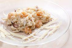 Risotto de  gambas ¡Insuperable!  #risotto #risottodegambas #recetasitalianas #recetaderisotto #risottoygambas