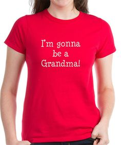 Love this Red 'Gonna Be a Grandma' Tee - Women on #zulily! #zulilyfinds
