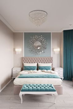 11 Modern and Luxurious Bedrooms With Baroque Style 01 Romantic Farmhouse Master Bedroom Ideas 53 Modern Bedroom Design Ideas That Very Recommended This Year Simple Bedroom Design, Luxury Bedroom Design, Master Bedroom Design, Home Decor Bedroom, Bedroom Furniture, Bedroom Designs, Diy Bedroom, Bedroom Wall, Bed Design