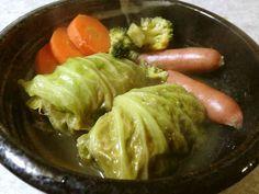 コンソメスープの基本ロールキャベツの画像
