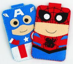 Hero collection Handmade Spiderman iphone iphone 4S by MyOwnDoll, $18.00