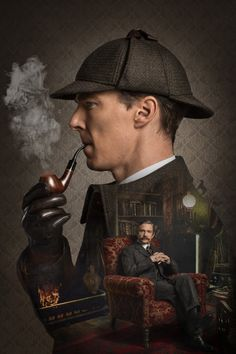 //New Official Artwork for Sherlock 'The Abominable Bride