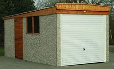 Best 27 Desirable Pent Garages Images Roofing Systems Garage 400 x 300