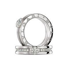 BVLGARI订婚戒指,传统弥久的爱情承诺_珠宝腕表频道_VOGUE时尚网 ❤ liked on Polyvore
